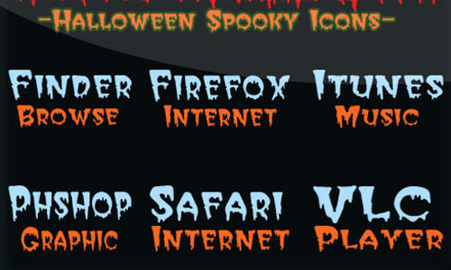 Halloween Icons - Halloween Spooky
