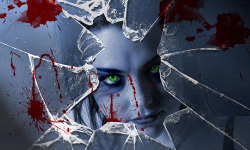 Halloween Photoshop Tutorials - Vampire Scene
