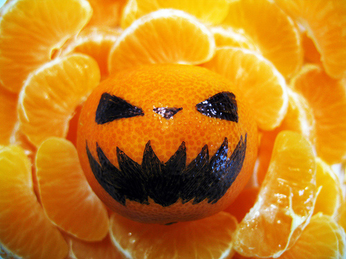 Halloween Desktop Wallpapers -  Tangerine Halloween