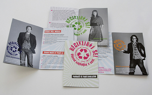 Booklet Designs - Recycle Booklet