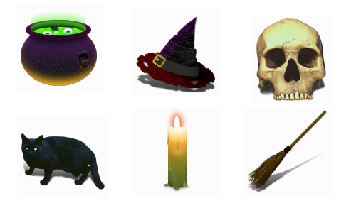 Halloween Icons - Witchery Icons