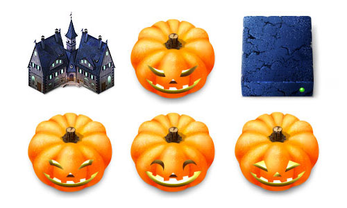 Halloween Icons - Haunted Hotel Icons for MacOS