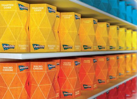 Creative Packaging Design - Doritos