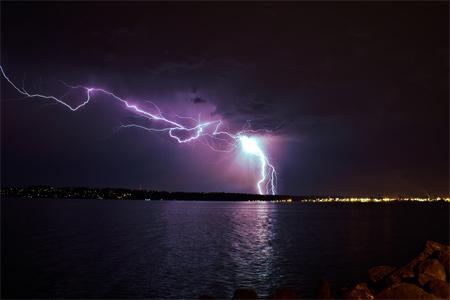 Photos of Lightning - First Attempt