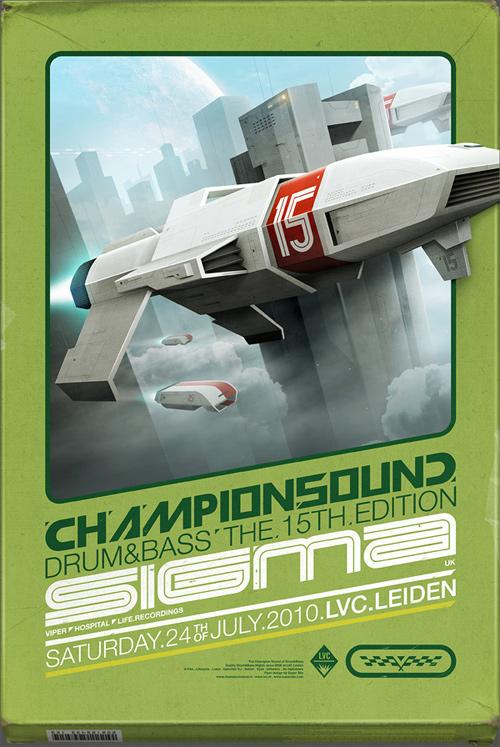 Flyer Design Ideas - Champion Sound