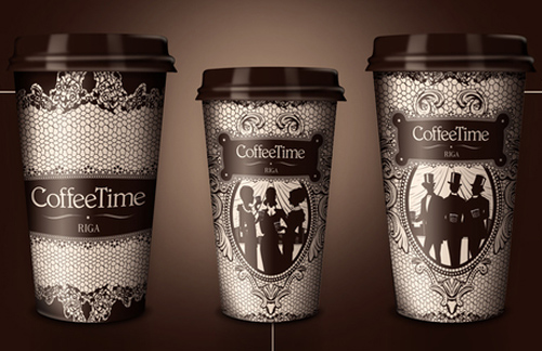 Coffee Cup Design - Coffee Time