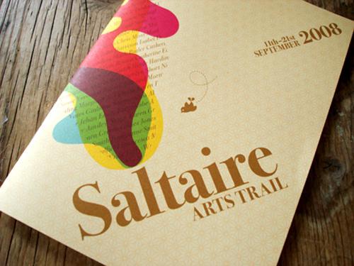 Brochure Design Examples - Saltaire