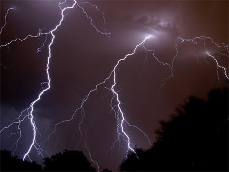 Photos of Lightning - Lightning at Tucson
