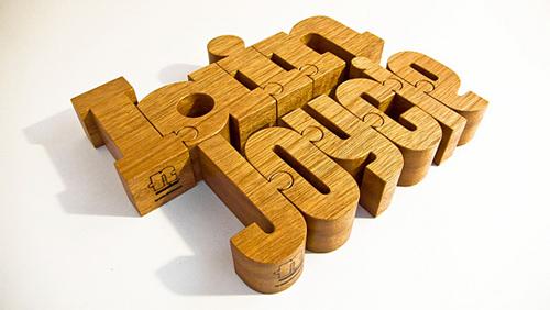 3d Typography Designs - Iain and Joycie