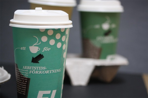 Coffee Cup Design - Coffee Cups For Feministiskt Initiativ