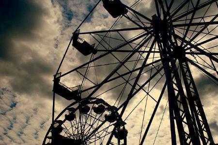Silhouette Photos - Ferris Wheel Fall Fair