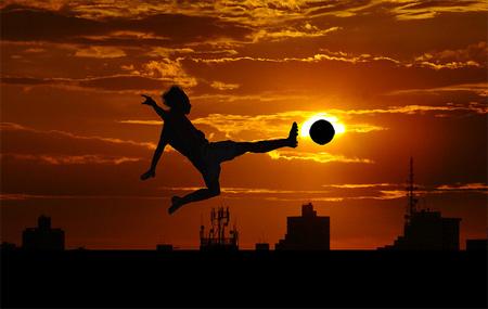 Silhouette Photos - Worlds Favorite Sport