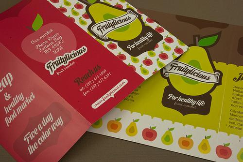Brochure Design Examples - Market Brochure