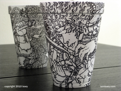 Coffee Cup Design - Demonslayer Coffee Cup