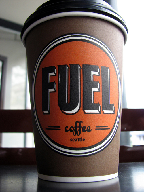 Coffee Cup Design - Fuel Coffee Cup