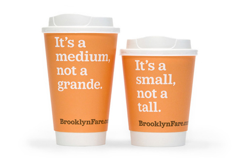 Coffee Cup Design - Brooklyn Fare