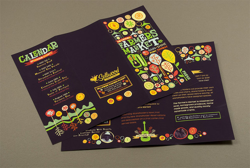 brochure design examples graphic farmers - Graphic Design Project Ideas