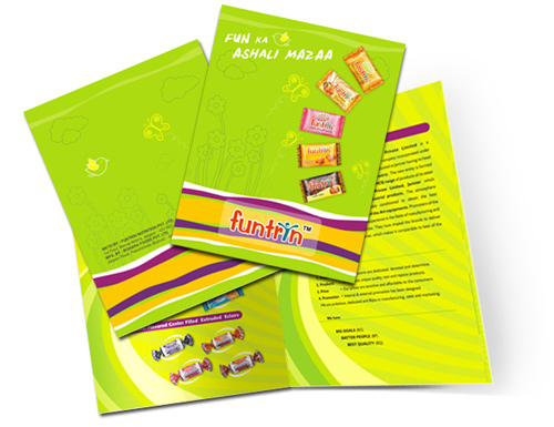 brochure design examples retail brochure