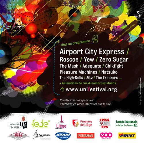 Flyer Design Ideas - Unifestival