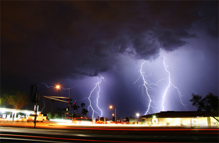 Photos of Lightning - Intersection