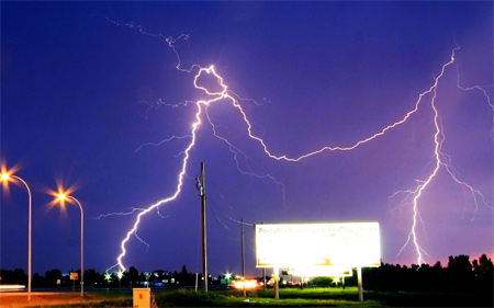 Photos of Lightning - June Storms
