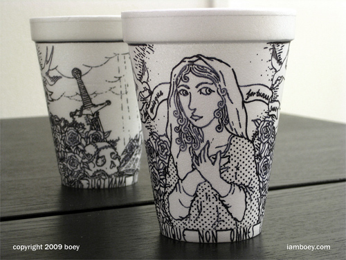 Coffee Cup Design - Lovely Coffee Cup