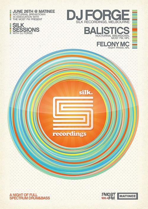 Flyer Design Ideas - Silk Sessions