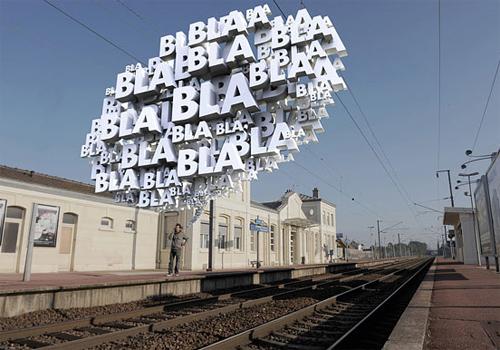 3d Typography Designs - Bla