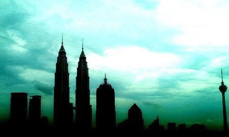 Silhouette Photos - Kulala Lumpur Malaysia