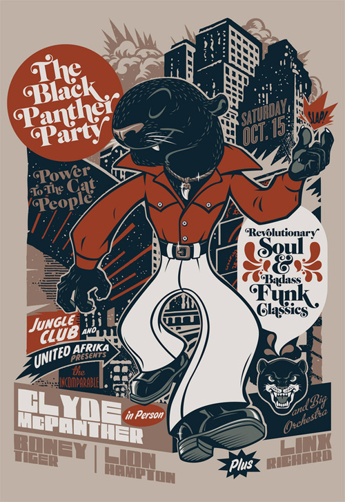 flyer design ideas the black panther party