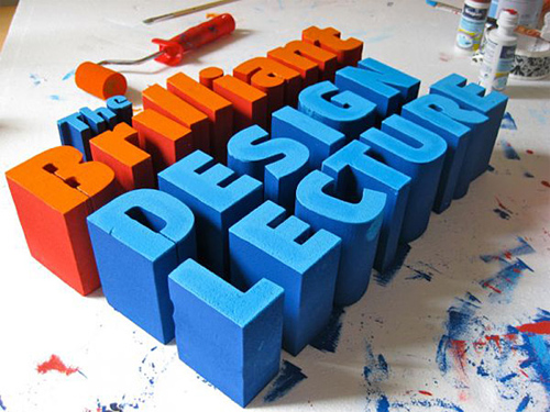 3d Typography Designs - Brilliant Design