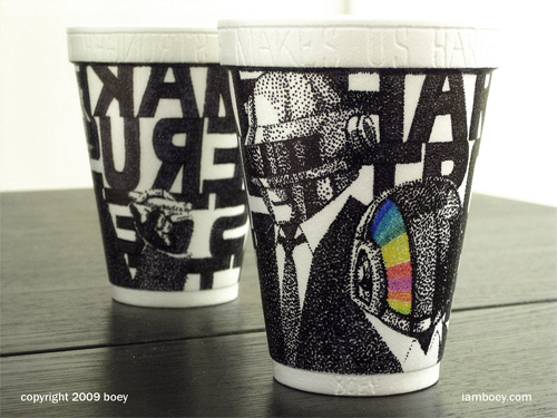 Coffee Cup Design - Harder Faster