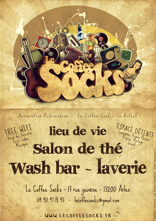 Flyer Design Ideas - Flyer Affiche Vintage