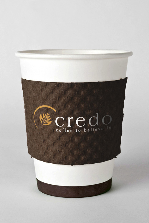 Coffee Cup Design - Credo Coffee