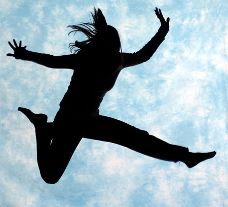 Silhouette Photos - Jumping Silhouette