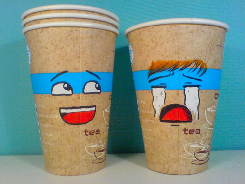 Coffee Cup Design - Emo Little Cup