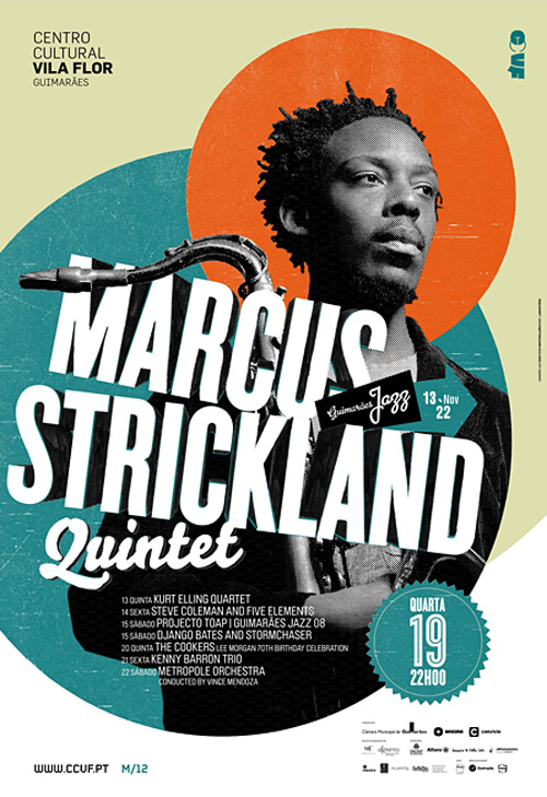 Flyer Design Ideas - Marcus Strickland