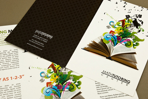Brochure Design Examples - Tutoring Center Brochure