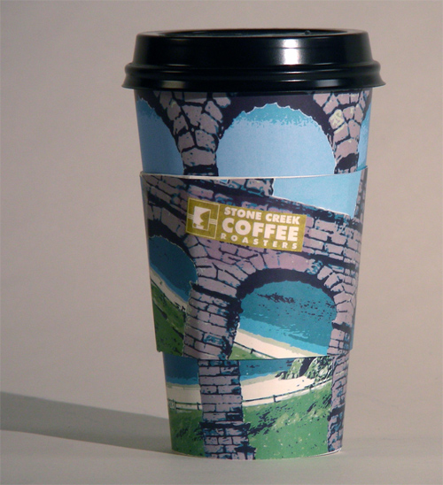 Coffee Cup Design - Stone Creek Coffee Redesign