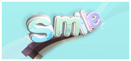 graphic design examples 9 - smile