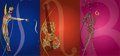 graphic design examples 8 -  theatre season poster