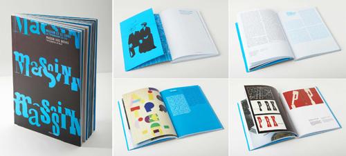 graphic design examples 4 - massin exhibition catalogue