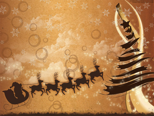 Free Christmas Desktop Wallpaper - Holydays