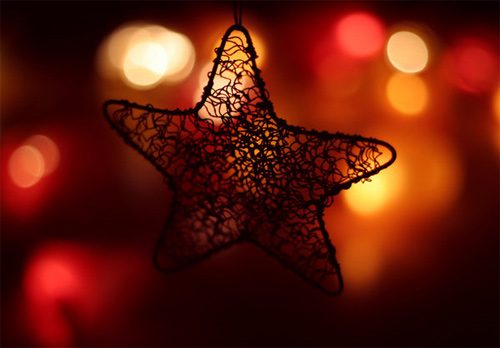 Free Christmas Desktop Wallpaper - Christmas Star