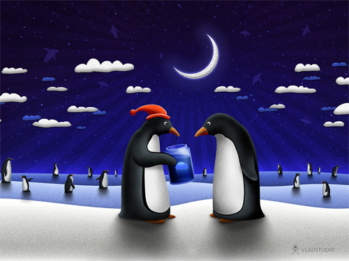 Free Christmas Desktop Wallpapers - A Small Gift for Christmas