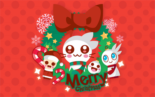 Free Christmas Desktop Wallpaper - Merry Christmas Wallpaper