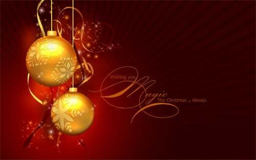 Free Christmas Desktop Wallpaper - A Magic Christmas