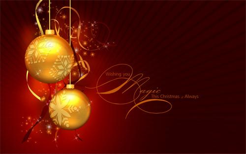 Free Christmas Desktop Wallpaper - A Magic Christmas