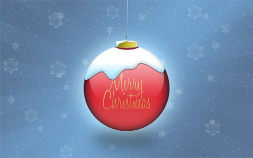 Free Christmas Desktop Wallpaper - Merry Christmas