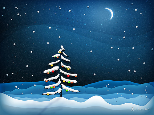 Free Christmas Desktop Wallpapers - Noel New Year Wallpaper